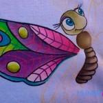 Cómo pintar en tela a mano
