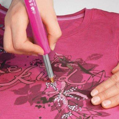 2015-05-18 Camiseta strass DIY