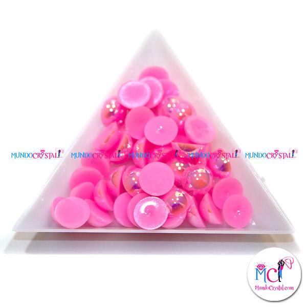 semiperla rosa fluor