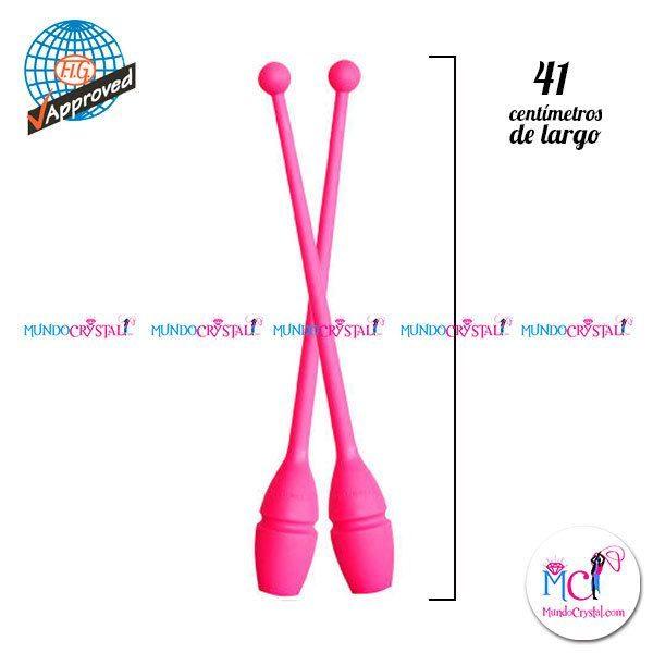 Mazas-41cm-largo-pastorelli-Rosa-Fluor
