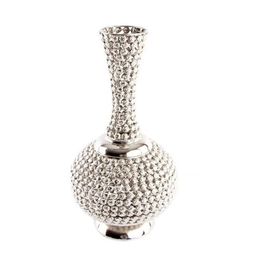 C mo decorar jarrones con cristales tutorial diy paso a paso for Como decorar plantas con piedras