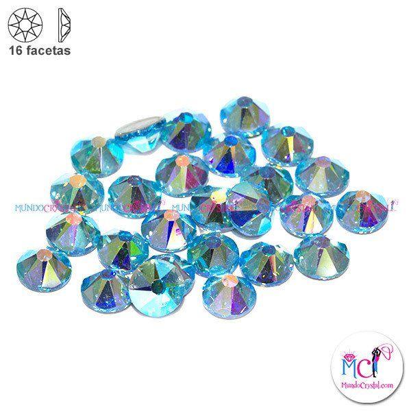 16-facetas-strass-aquamarine-ab