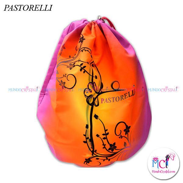 Porta-pelotas-Pastorelli-modelo-Hilary,-color-naranja-y-rosa