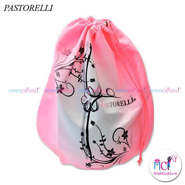 Porta-pelotas-Pastorelli-rosa-y-blanco-modelo-Hilary