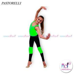 Rodilleras-Pastorellis-Funny,-verde-fluorescente