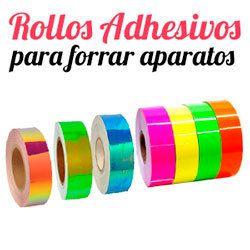 rollos adhesivos decorativos