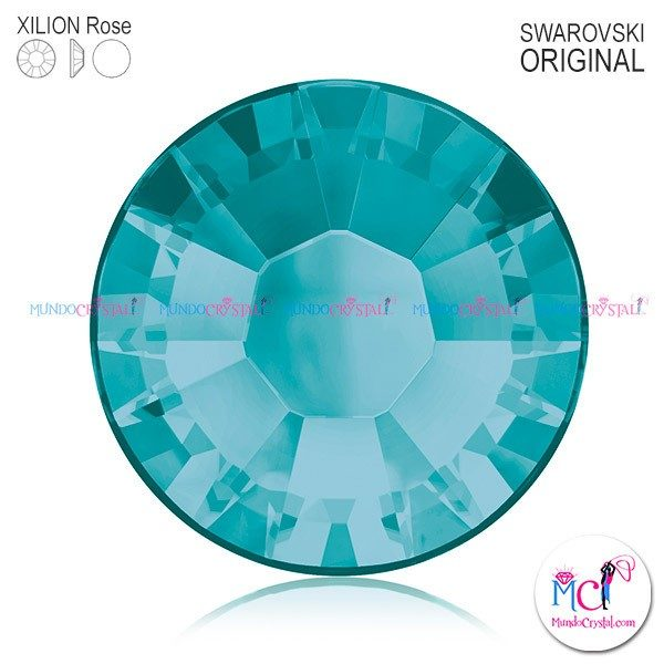 xilion-rose-2038 blue zircon