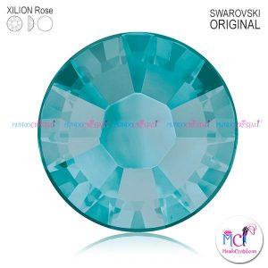 xilion-rose-2038 blue zircon satin