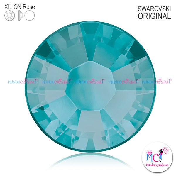 xilion-rose-2038 blue zircon satin