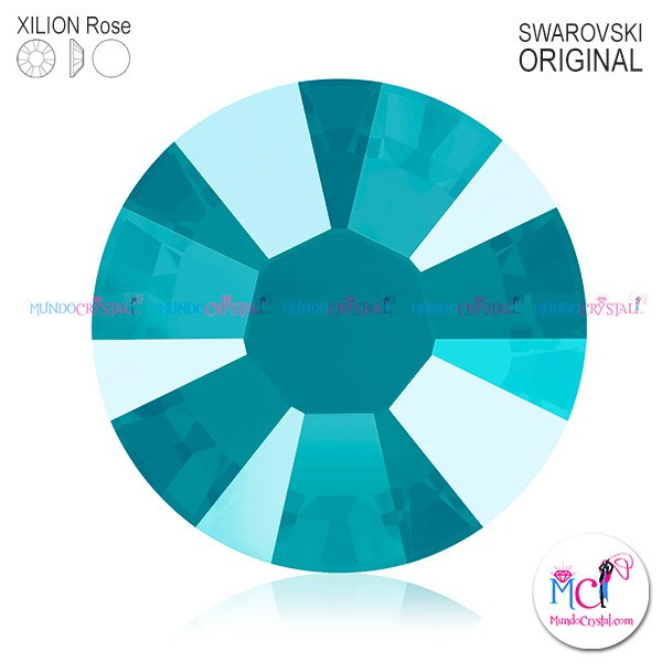 xilion-rose-2038 crystal azure blue