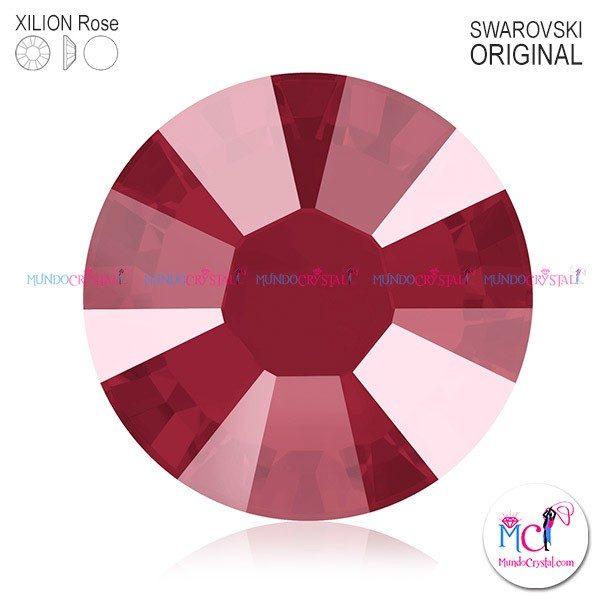 xilion-rose-2038 crystal dark red