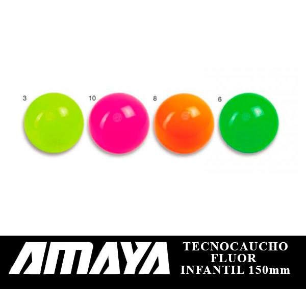 Pelota-Tecnocaucho-fluor-amaya-infantil