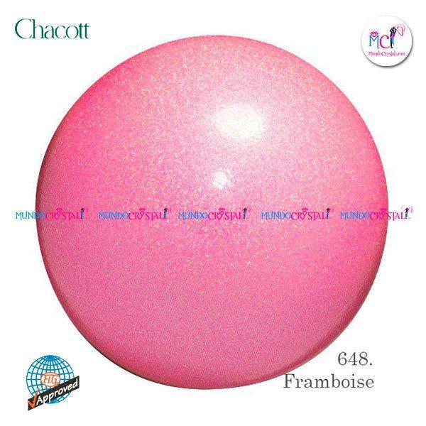 Pelota-de-Chacott-prisma-185mm-color-framboise