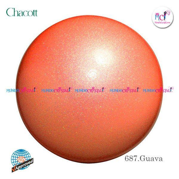 Pelota-de-Chacott-prisma-185mm-color-guava