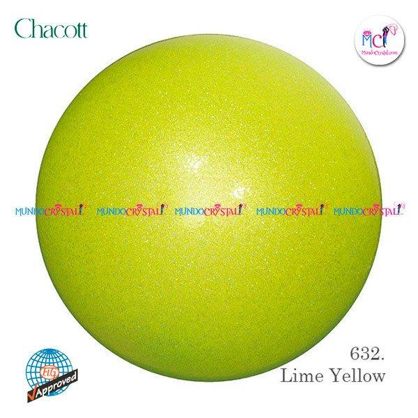 Pelota-de-Chacott-prisma-185mm-color-lime-yellow