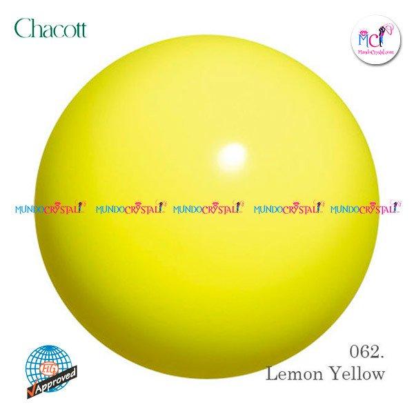 pelota-chacott-185mm-amarilla