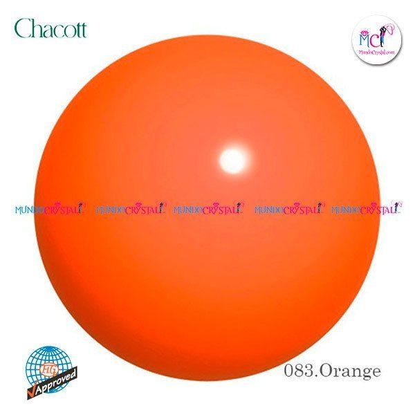 pelota-chacott-185mm-naranja