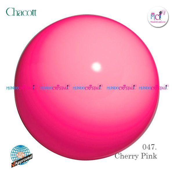 pelota-chacott-185mm-rosa-claro