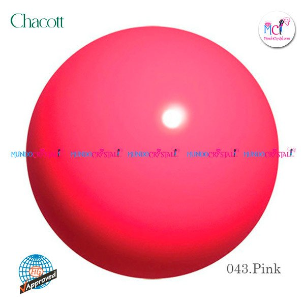 pelota-chacott-185mm-rosa