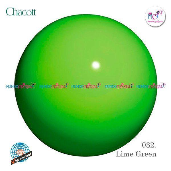 pelota-chacott-185mm-verde-lima